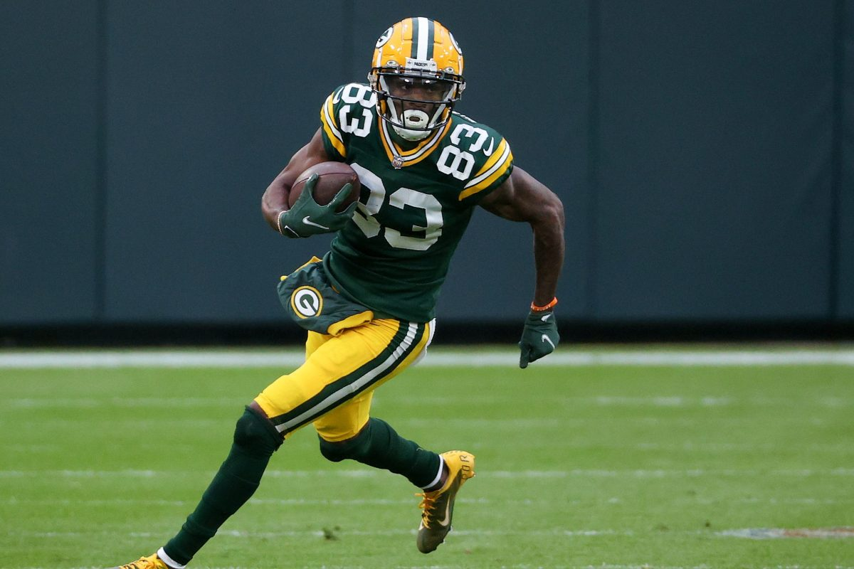 Marquez Valdes-Scantling - The frustrating, but amazing deep ball threat