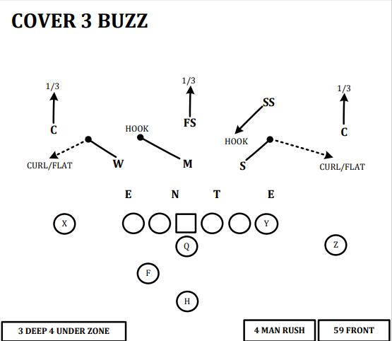 cover 3 buzz
